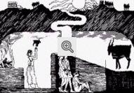 Ilustação do Mito da Caverna