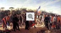 """""""O juramento dos Trinta e Três Orientais"""": obra representando a separação da Cisplatina."""