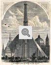 The Centennial Tower, uma torre de mais de trezentos metros de altura foi projetada para a exposição, mas nunca foi construída.