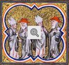 Grande Cisma do Ocidente. Em 1378, a Igreja foi dividida em duas denominações lutaram entre si por 30 anos.