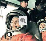 Yuri Gagarin, antes do lançamento ao espaço