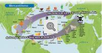 Mercantislimo: das Américas para a Europa, África e Asia