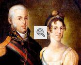 Dom João VI (ao lado de sua esposa, Carlota Joaquina) trouxe diversas mudanças com a transferência da Família Real para o Brasil.