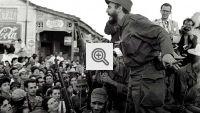 Foto com Fidel Castro na Revolução Cubana