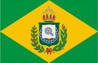 Bandeira do Segundo Reinado no Brasil